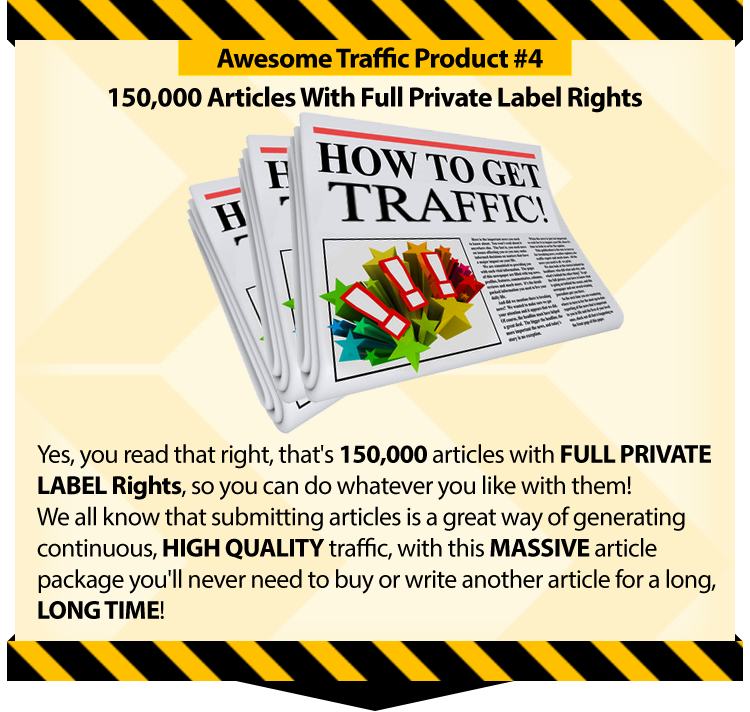 Massive Traffic Package - One Time Offer Download