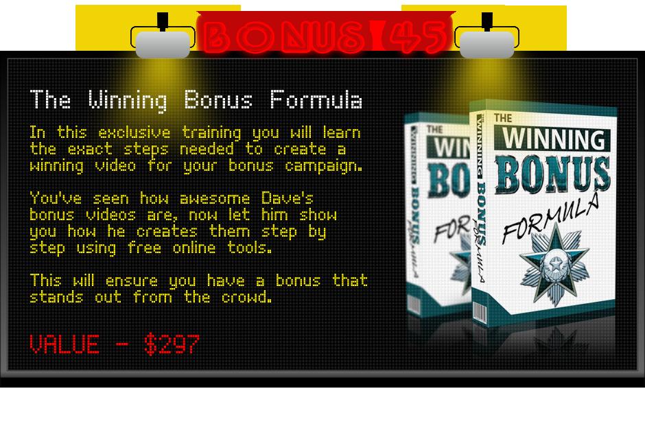 winning bonus formula bonus