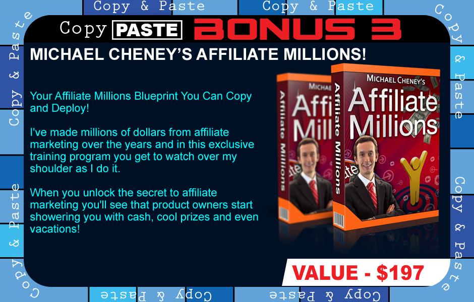 copy paste commissions bonus