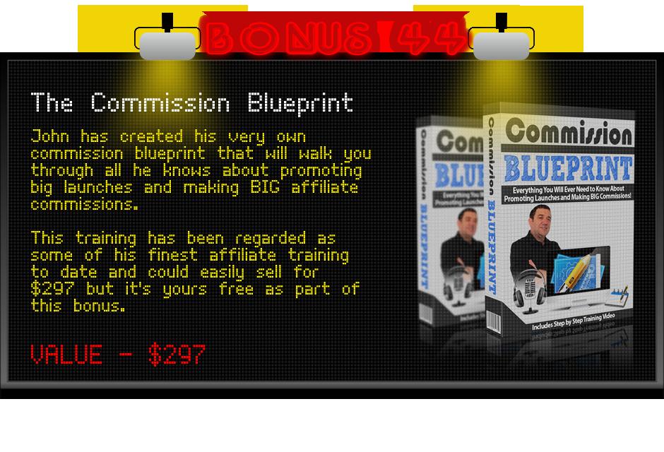 commission blueprint bonus